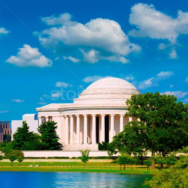 Thomas Jefferson memorial in Washington DC Stock photo © lunamarina