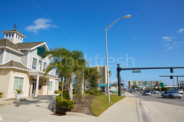 Strand Florida haven oranje USA straat Stockfoto © lunamarina