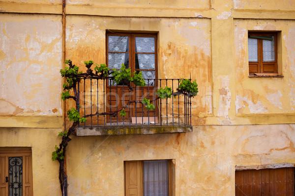 Vieux Espagne la façon saint ville Photo stock © lunamarina