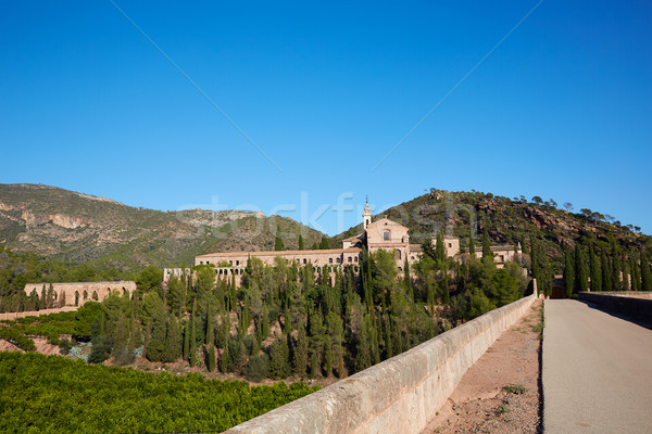 Stock photo: Calderona Sierra monastery Cartuja Portaceli