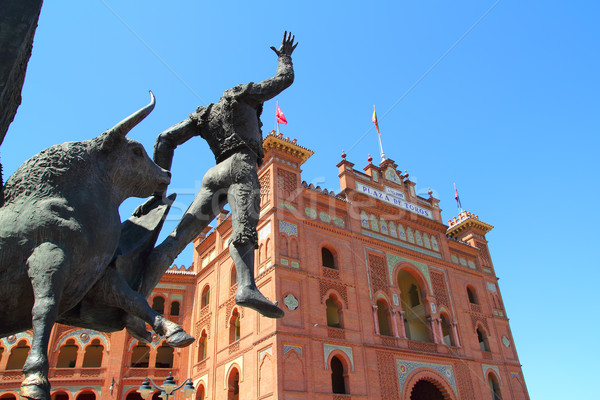 Madrid monumentaal ring stier cultuur oude Stockfoto © lunamarina