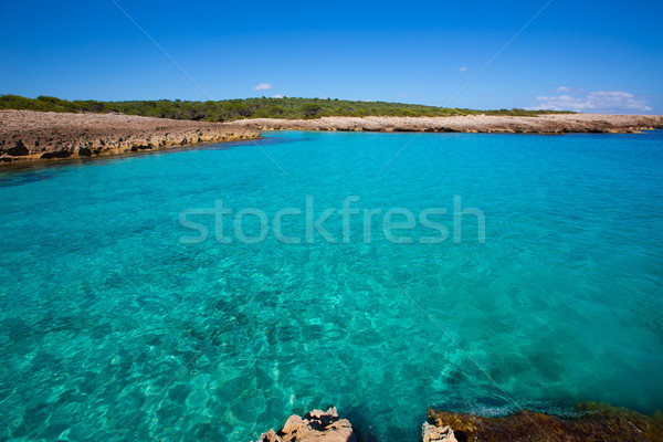 Menorca Cala des Talaier beach in Ciutadella at Balearic Stock photo © lunamarina
