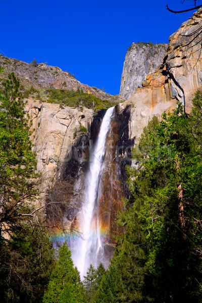 Yosemite spadek wodospad California parku niebo Zdjęcia stock © lunamarina