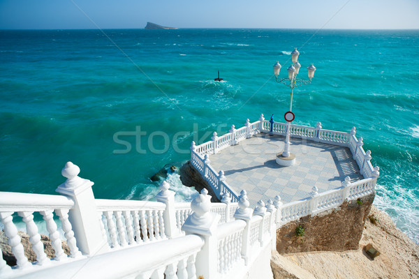 Benidorm balcon del Mediterraneo Mediterranean sea Stock photo © lunamarina
