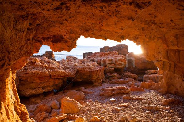 Morze Śródziemne morza Hiszpania wody słońce charakter Zdjęcia stock © lunamarina