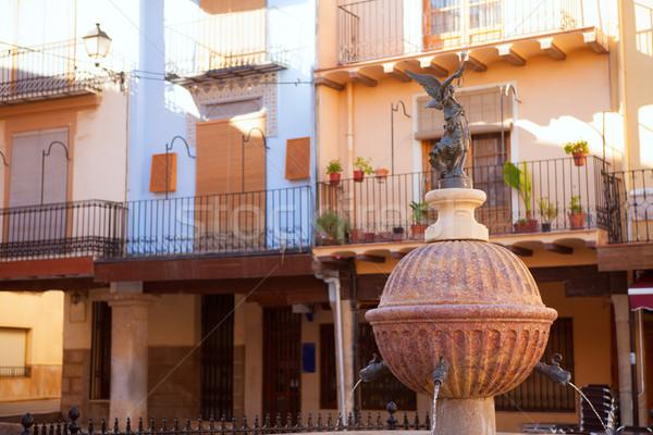 San Mateo sant Mateu de Montesa in Castellon Stock photo © lunamarina