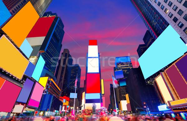 Photo stock: Times · Square · Manhattan · New · York · tous · affaires