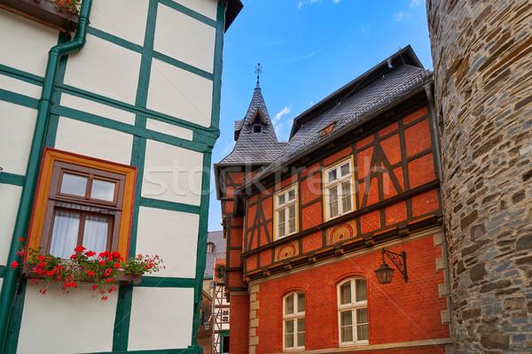 гор Германия город синий путешествия Европа Сток-фото © lunamarina