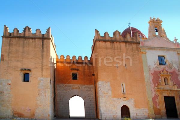 Mikulás LA kolostor Spanyolország Valencia műemlékek Stock fotó © lunamarina