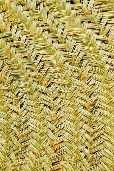 esparto handcrafts texture detail from Majorca Stock photo © lunamarina