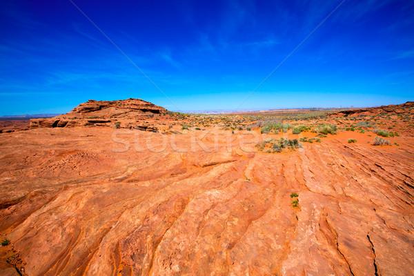 Arizona Wüste Colorado Fluss USA orange Stock foto © lunamarina