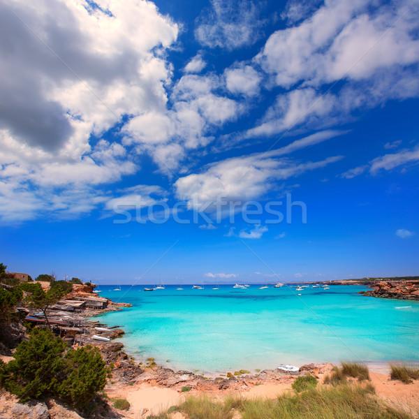 Stock photo: Formentera Cala Saona beach Balearic Islands