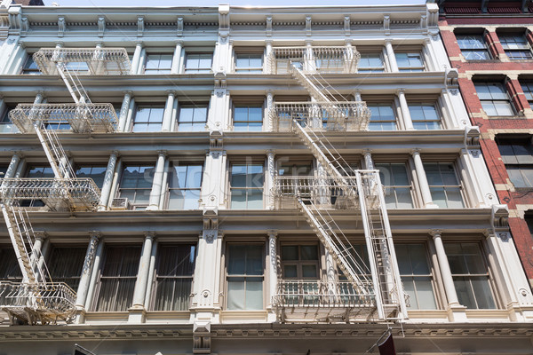 Bina Manhattan New York binalar iş Stok fotoğraf © lunamarina