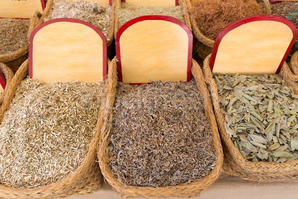 ストックフォト: 自然 · 健康 · 薬 · 伝統的な · 文化