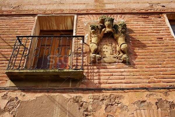 Azofra in Saint James Way at La Rioja Stock photo © lunamarina