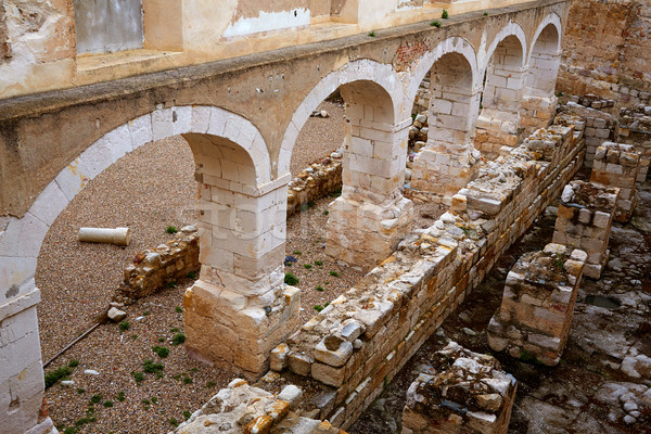 Zamora the castle El Castillo in Spain Stock photo © lunamarina