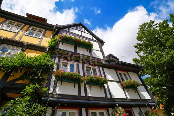 город Германия весны синий путешествия гор Сток-фото © lunamarina