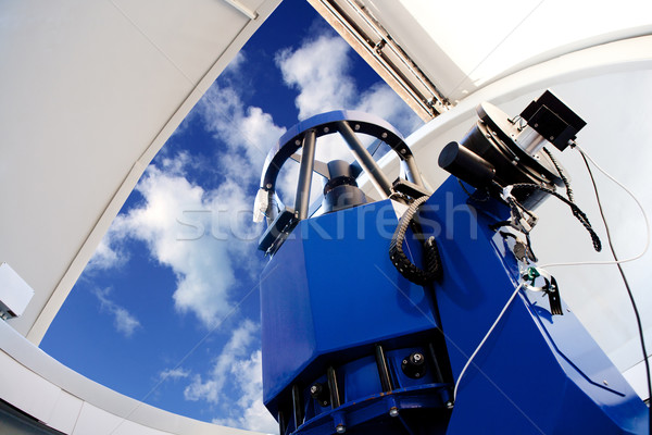 astronomical observatory telescope indoor Stock photo © lunamarina