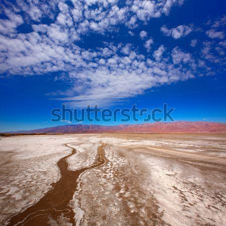 Muerte valle parque California sal suelo Foto stock © lunamarina