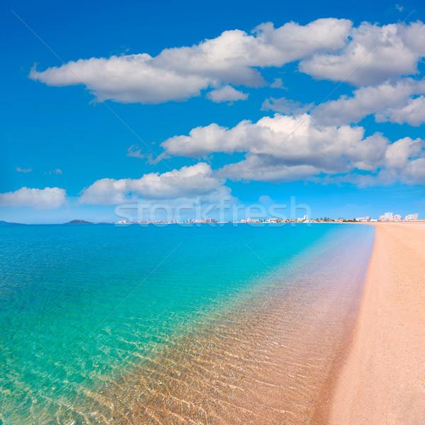 Plaży manga krajobraz morza niebieski podróży Zdjęcia stock © lunamarina