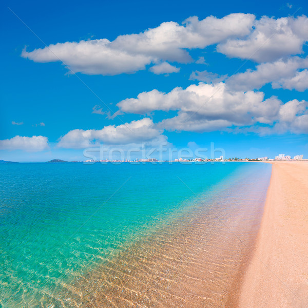Playa Paraiso beach in Manga Mar Menor Murcia Stock photo © lunamarina