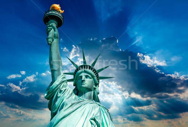 Liberty Statue New York American Symbol USA Stock photo © lunamarina