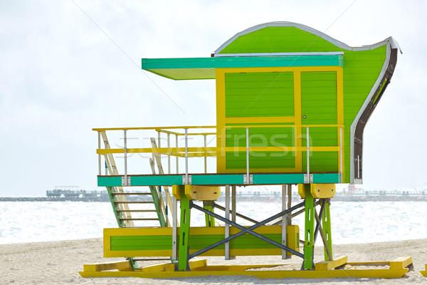 Miami praia torre sul Flórida EUA Foto stock © lunamarina