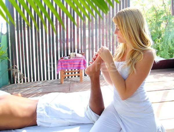 reflexology massage therapy physiotherapy jungle Stock photo © lunamarina