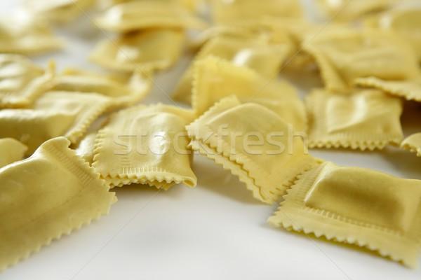Peynir İtalyan makarna doku sarı beyaz Stok fotoğraf © lunamarina