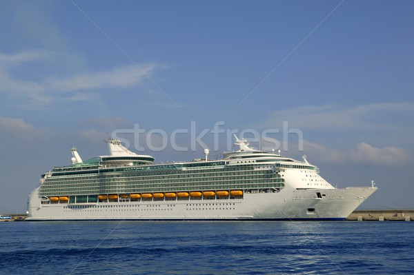 Cruise in Ibiza Island, Mediterranean sunrise Stock photo © lunamarina