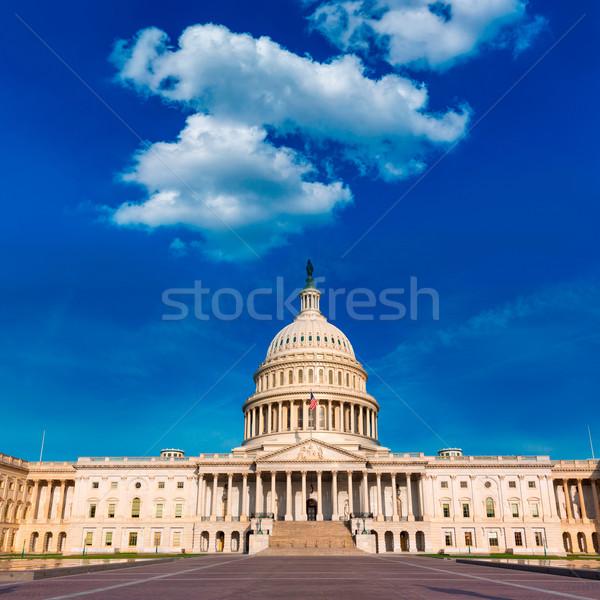 Stockfoto: Gebouw · Washington · DC · Oost · USA · huis