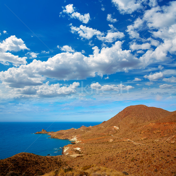 Cabo de Gata Almeria Poniente aerial view Spain Stock photo © lunamarina