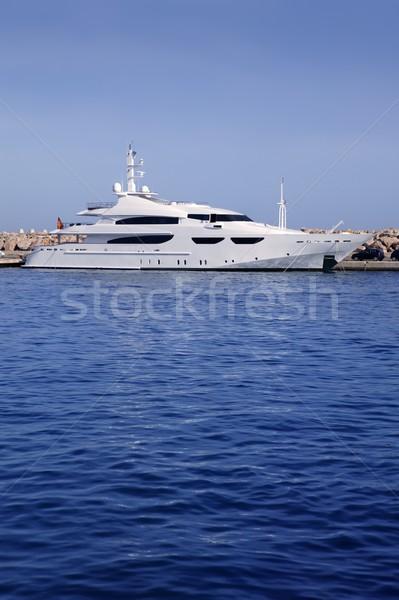 Stock fotó: Mallorca · kikötő · kikötő · marina · Spanyolország · jacht