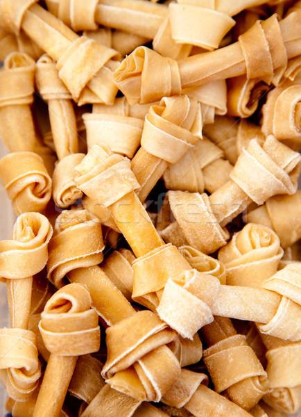 artificial dog bones with two knots Stock photo © lunamarina