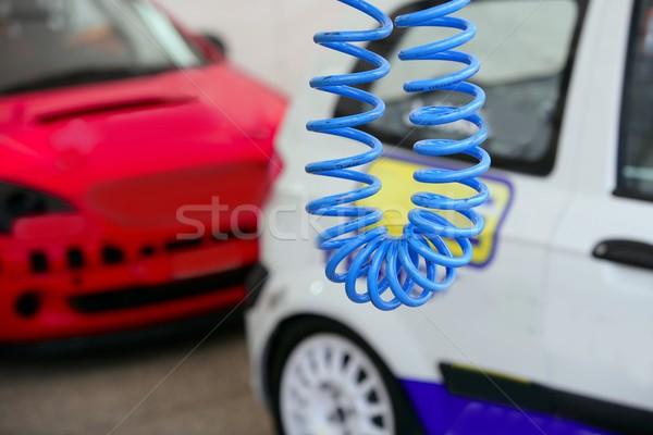 Car competition races training day  Stock photo © lunamarina