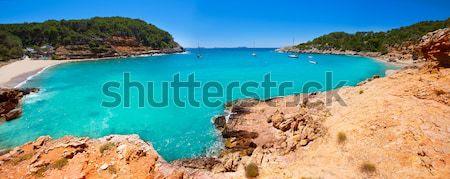 Ibiza cala Saladeta in san Antonio Abad at Balearic Stock photo © lunamarina