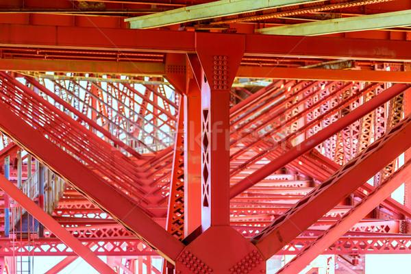 ゴールデンゲートブリッジ 細部 サンフランシスコ カリフォルニア 米国 車 ストックフォト © lunamarina