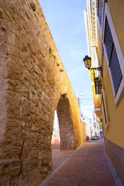 Segorbe Castellon Torre del Verdugo medieval Muralla Spain Stock photo © lunamarina