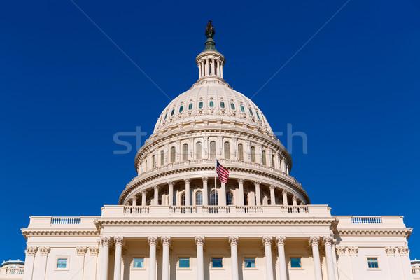 Stockfoto: Gebouw · Washington · DC · zonlicht · dag · USA · hemel