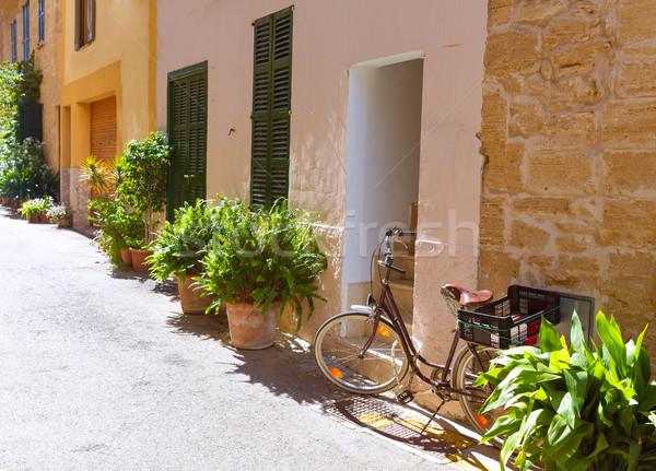 Alcudia Old Town in Majorca Mallorca Balearic Stock photo © lunamarina
