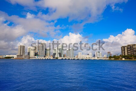 Boston skyline rivier zonlicht Massachusetts USA Stockfoto © lunamarina