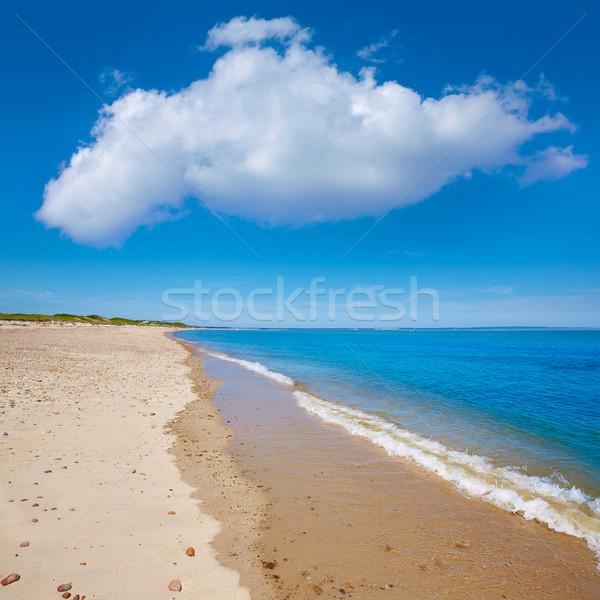 Cape cod sable cou plage Massachusetts USA Photo stock © lunamarina