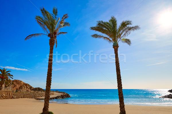 Cullera Platja del Far beach Playa del Faro Valencia Stock photo © lunamarina