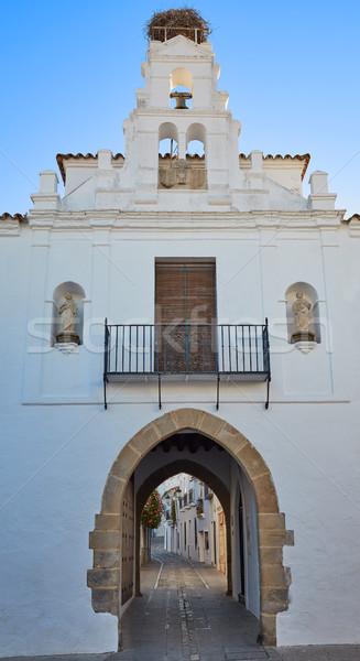 ív Spanyolország LA utca kék vallás Stock fotó © lunamarina