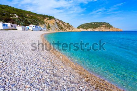 Cala Barraca beach in Xabia Javea of Alicante Stock photo © lunamarina