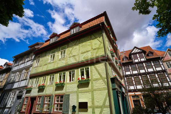 Cidade Alemanha primavera edifício viajar montanhas Foto stock © lunamarina