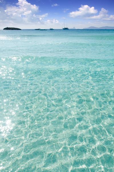 Zdjęcia stock: Plaży · turkus · morze · Śródziemne · niebo · wody · krajobraz