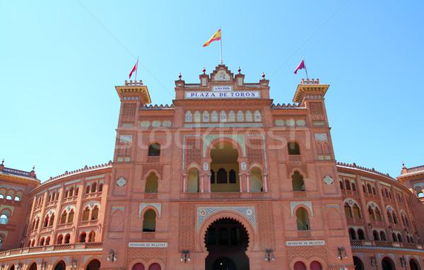 Madrid reizen ring Europa stier cultuur Stockfoto © lunamarina