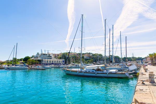 Jachthaven haven majorca eiland Spanje water Stockfoto © lunamarina