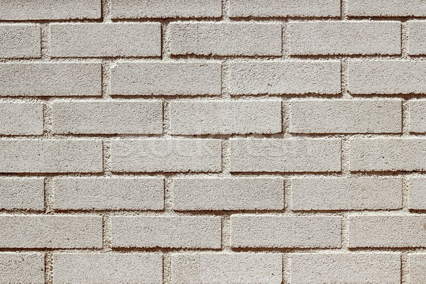 precast concrete white bricks brickwall wall Stock photo © lunamarina